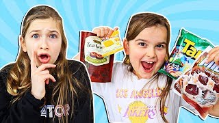 AMERICAN KIDS TRY SNACKS FROM INDONESIA!! JKrew