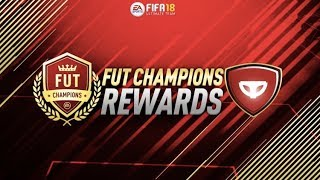 FUT CHAMPIONS WEEKLY REWARDS! GOLD 1 + OTHER PACKS (2) (FIFA 18) (LIVE STREAM)
