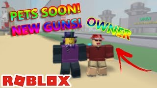 I MET THE CREATOR OF DESTRUCTION SIMULATOR in ROBLOX!! (PETS SOON)