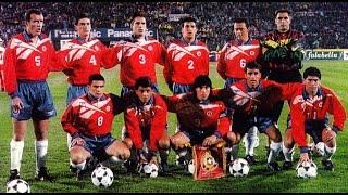 Chile vs Colombia  Eliminatorias Francia 1998