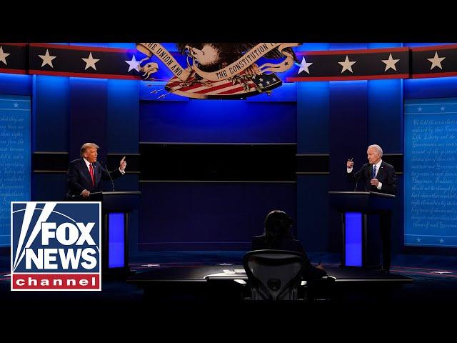 Trump, Biden debate in final face-off of 2020 presidential election   Full