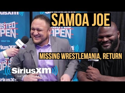 Samoa Joe - Missing WrestleMania, Return, Charity Work