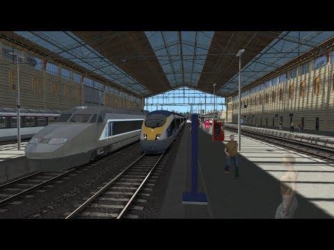 Train Simulator 2018 | TGV Marseille to Avignon Route | Eurostar E320 (DB ICE 3) HD