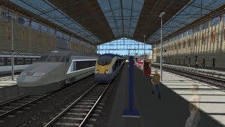 Train Simulator 2018   TGV Marseille to Avignon Route   Eurostar E320 (DB ICE 3) HD