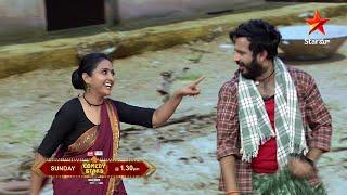 Asalem jarugutundi #Rangasthalam spoof lo 😂 😀 #ComedyStars Sunday at 1:30 PM on #StarMaa