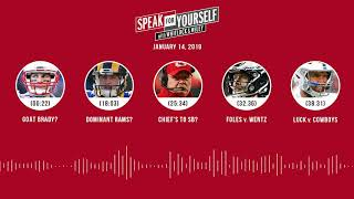 SPEAK FOR YOURSELF Audio Podcast (1.14.19) with Marcellus Wiley, Jason Whitlock | SPEAK FOR YOURSELF