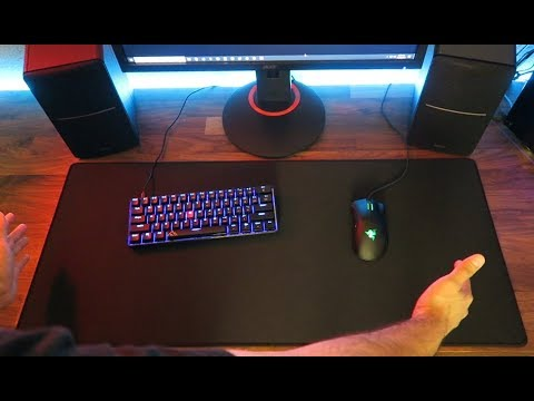 Why You Should Get an Extended Mouse Pad!