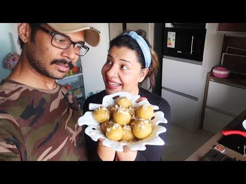 Besan ke Laddu kaise banaaye   Ss Recipe Vlogs :-)