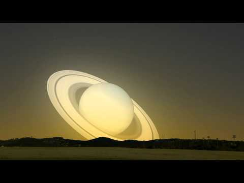 A visit from Saturn: What if Saturn flew past the Earth