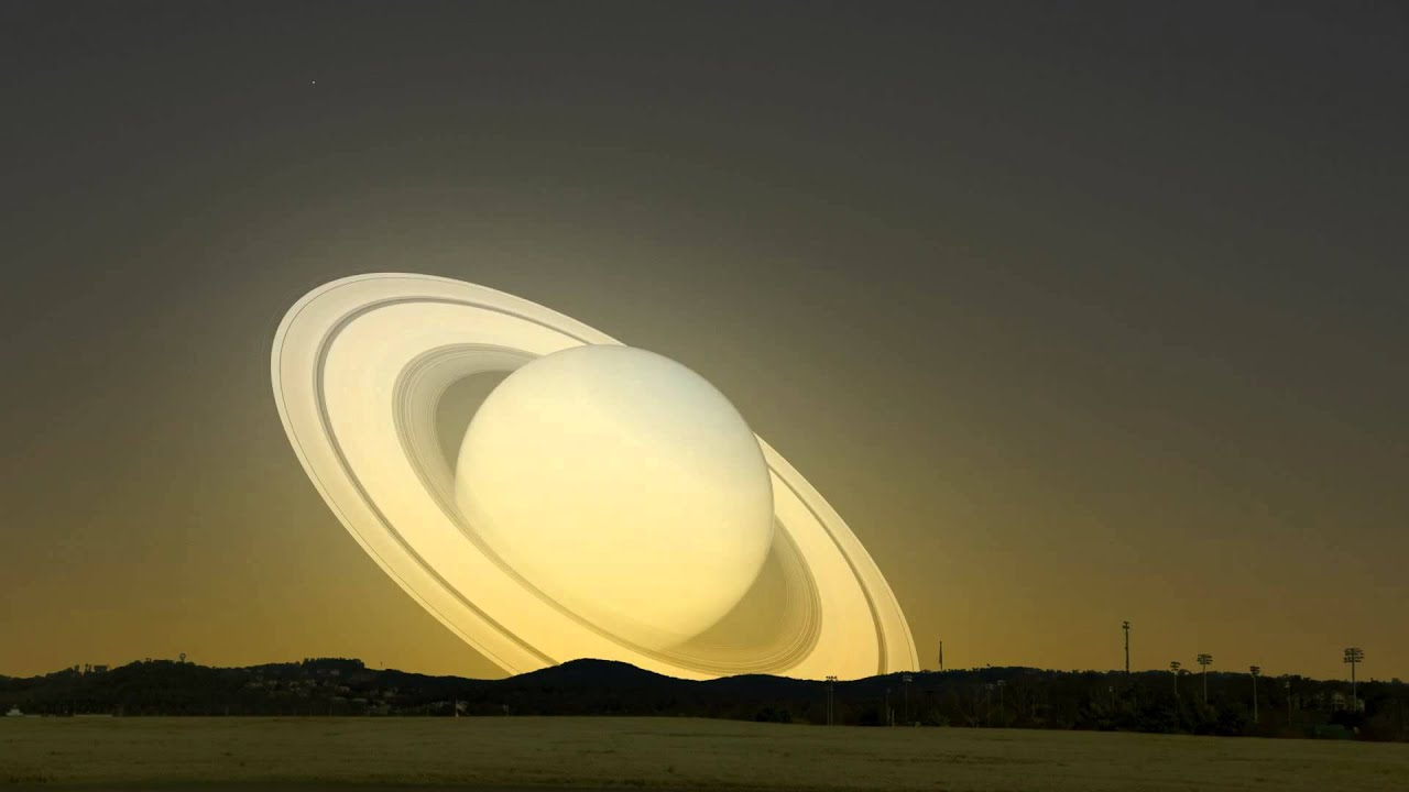 Visit Saturn Flew Earth