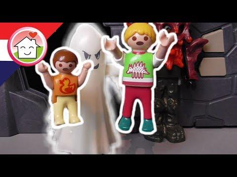 Playmobil filmpje Nederlands De spooktrein - Familie Huizer