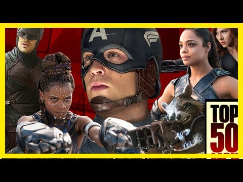 Breaking News | The 50 Best Marvel Movie & TV Characters – Ranked
