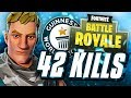 Atlantis Mitr0 *42 KILLS Solo Squad* Fortnite Battle Royale Gameplay | SOLO SQUADS WORLD Record!