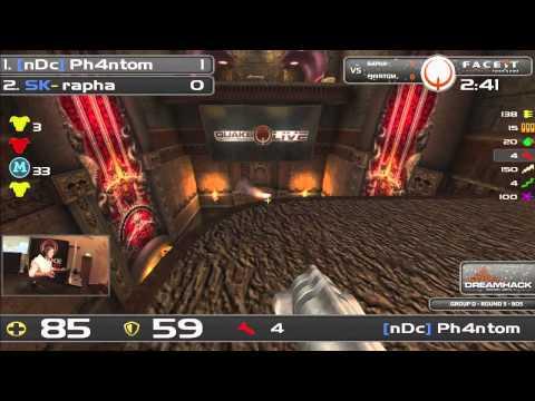 DHW2013 - Quake Live (GROUP D - R5) - Rapha vs Ph4ntom