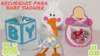 c51bae3a8 Hazlo tú misma  RECUERDOS PARA BABY SHOWER 🎉 Sabor de fiesta ...