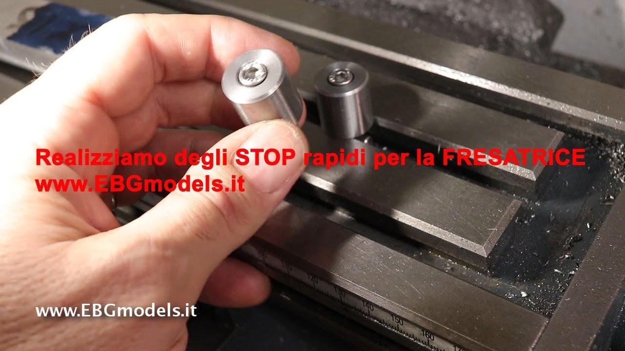 Realizziamo uno stop rapido per la tavola a croce della fresatrice by ebgmodels youtube - Tavola a croce per trapano ...