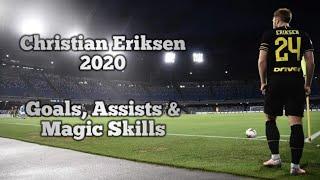 Christian Eriksen ● 2020 ● Amazing Goals , Assist & Skills🔥🔵⚫ ● Best Moments at Inter💙🖤 so far!