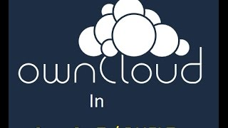 Installing OwnCloud 8 on Linux (CentOS7/RHEL7)