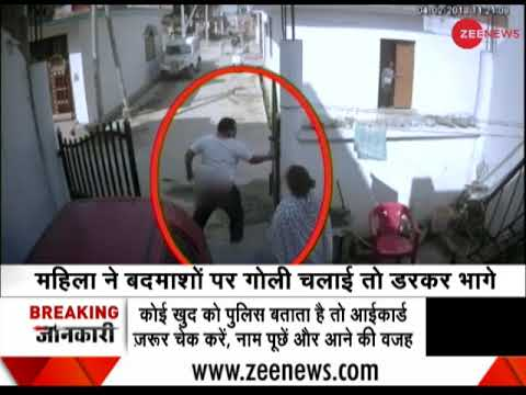 Lucknow: CCTV records goons beating man; lawyer wife fires in defense