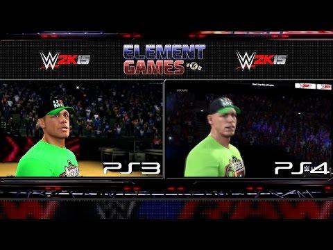 WWE 2K15 : John Cena Entrance PS4 vs PS3 Comparison