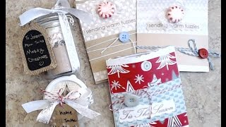 CRAFT FAIR|TEACHER|CO-WORKER GIFTS {TUTORIAL SERIES} #3 {HOT COCO - 5 WAYS}
