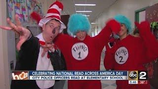 Baltimore school celebrates Dr. Seuss' birthday