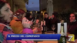 Firenze - Da oggi coprifuoco alle 23 00