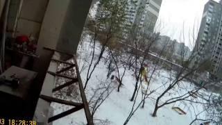 Как сделать балкон с выносом окна. Металлический каркас(Как сделать балкон с выносом окна. Металлический каркас., 2016-12-17T10:54:27.000Z)