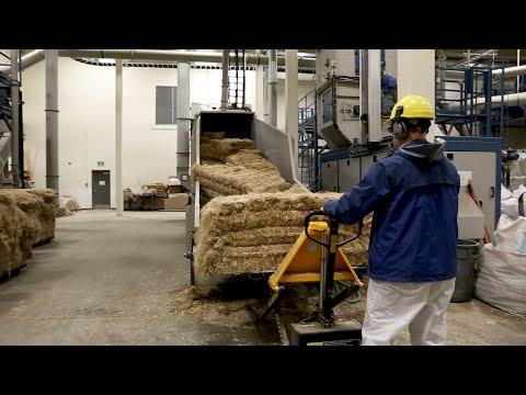 Take a tour of a hemp processing plant