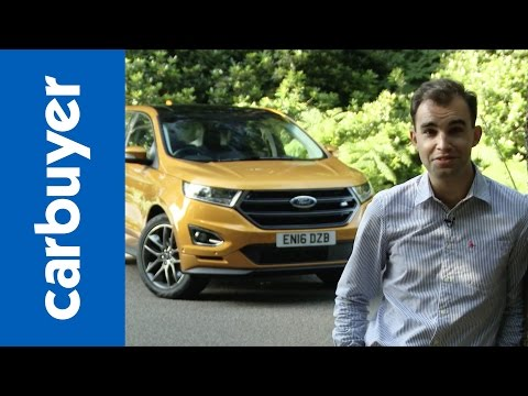 Ford Edge SUV review 2016 – Carbuyer