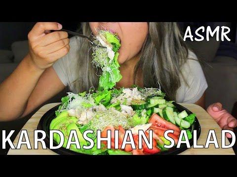 ASMR: Kardashian Salad *Eating Sounds* MUKBANG