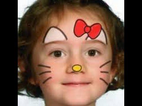 face painting ideas kitty