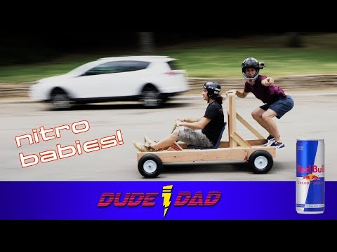 NITRO BABIES Red Bull Soapbox build - part 2