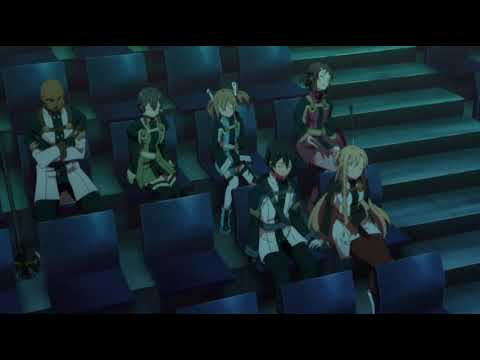 Sword Art Online: Ordinal Scale Yuna's Final Song/goodbye English Dub