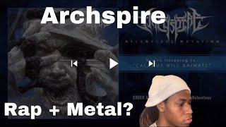 Archspire - Calamus Will Animate - REACTION😮