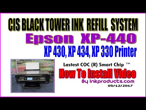 epson xp 434 how to change ink