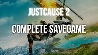 Just Cause 2 Save game 100% NonSteam [TUTORIAL]