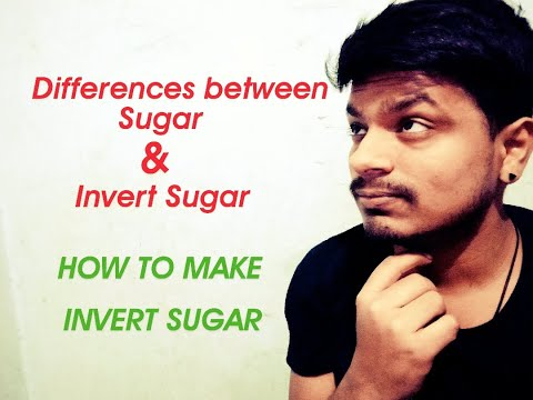 Difference between sugar and invert sugar //food technology//2020//practical