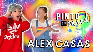 PINTE LA PARED DE ALEX CASAS! 🌈 REGRESA PINTO TU PARED 🎨❤️🙊