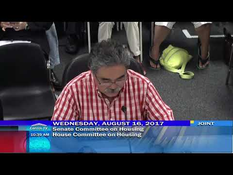 State hearing Wednesday August 16, 2017