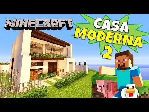 Como hacer una casa moderna en minecraft paso a paso doovi for Casa moderna minecraft tutorial