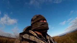Охота на утку осенью с чучелами видео