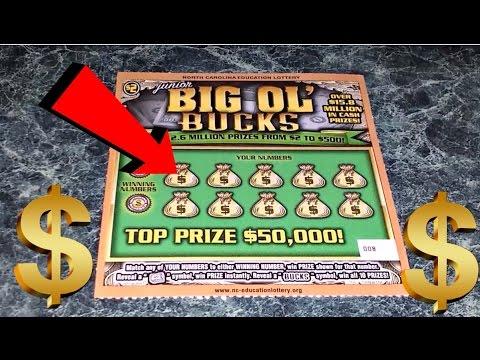 50000 junior big ol bucks nc lottery youtube sciox Image collections