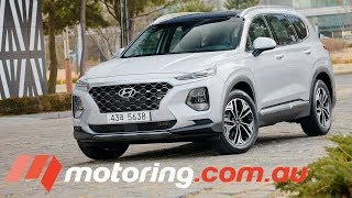 First Look at Hyundai's 2019 Santa Fe | motoring.com.au