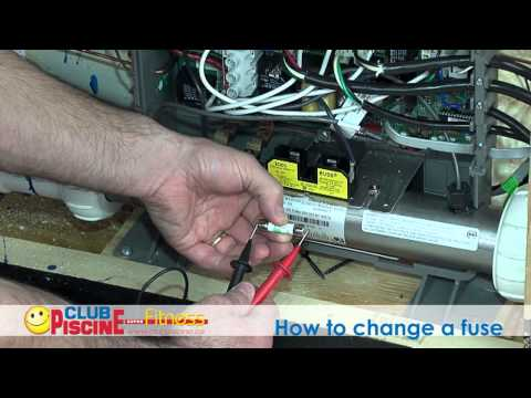 How to change a fuse - Spas - YouTube Balboa Spa Wiring Diagram on