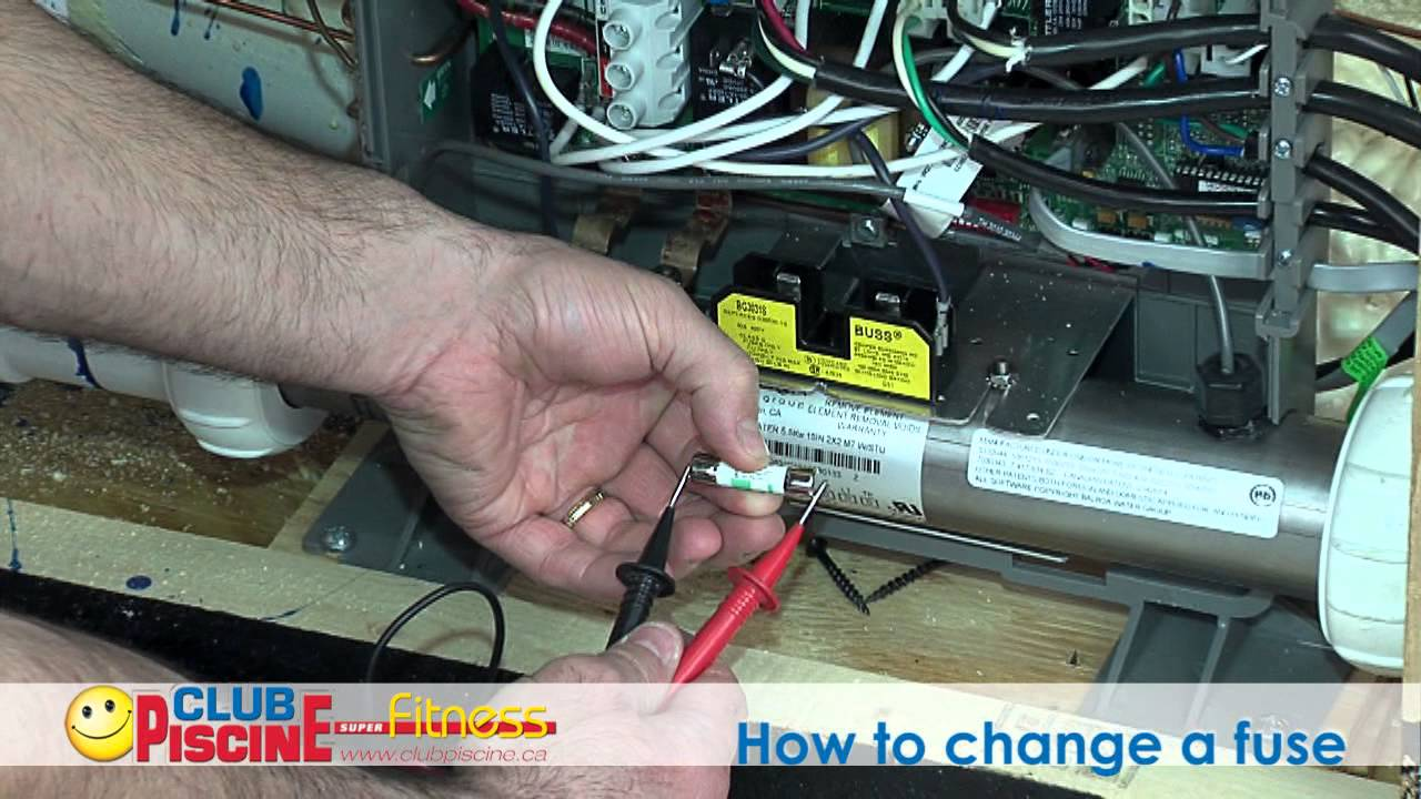 How to change a fuse  Spas  YouTube