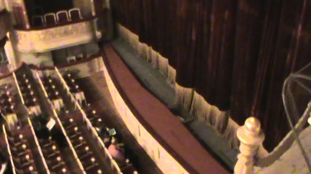 Малый театр, схема зала,