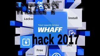WHAFF Hack 2017 Working