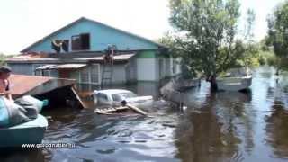 Наводнение в с. Ленинское ЕАО