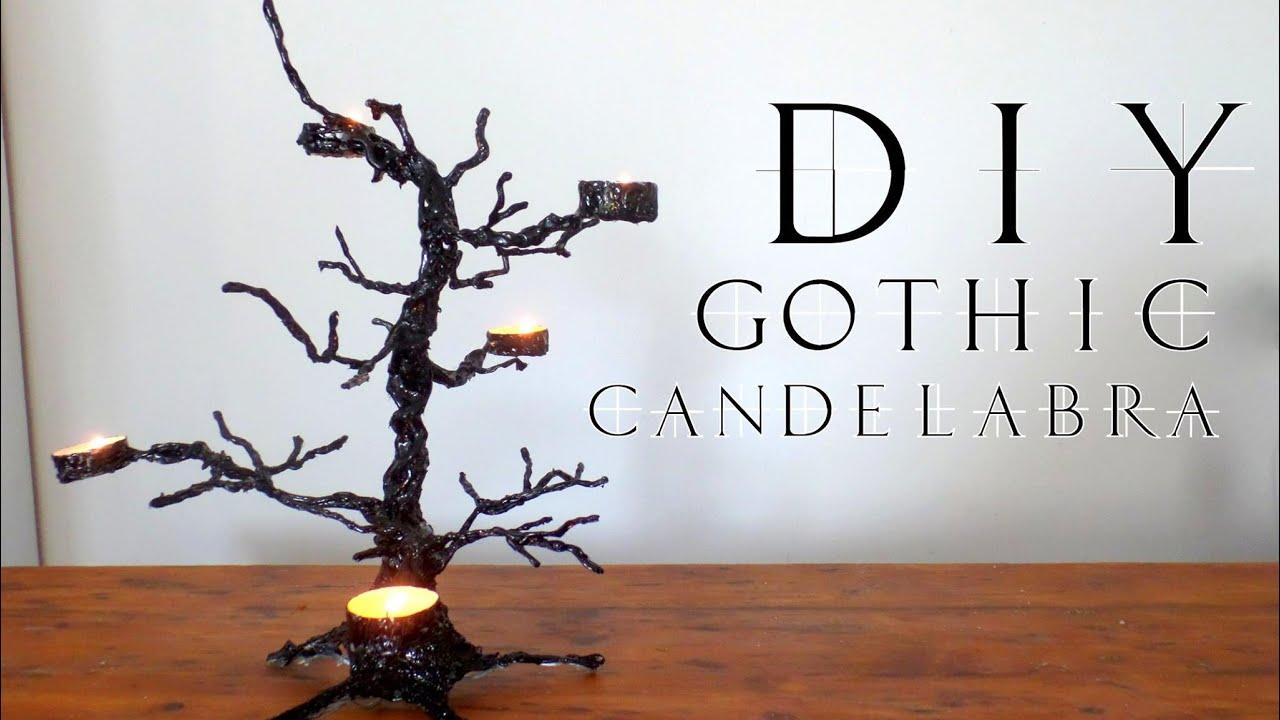 Diy Gothic Candelabra Greek Subs Youtube